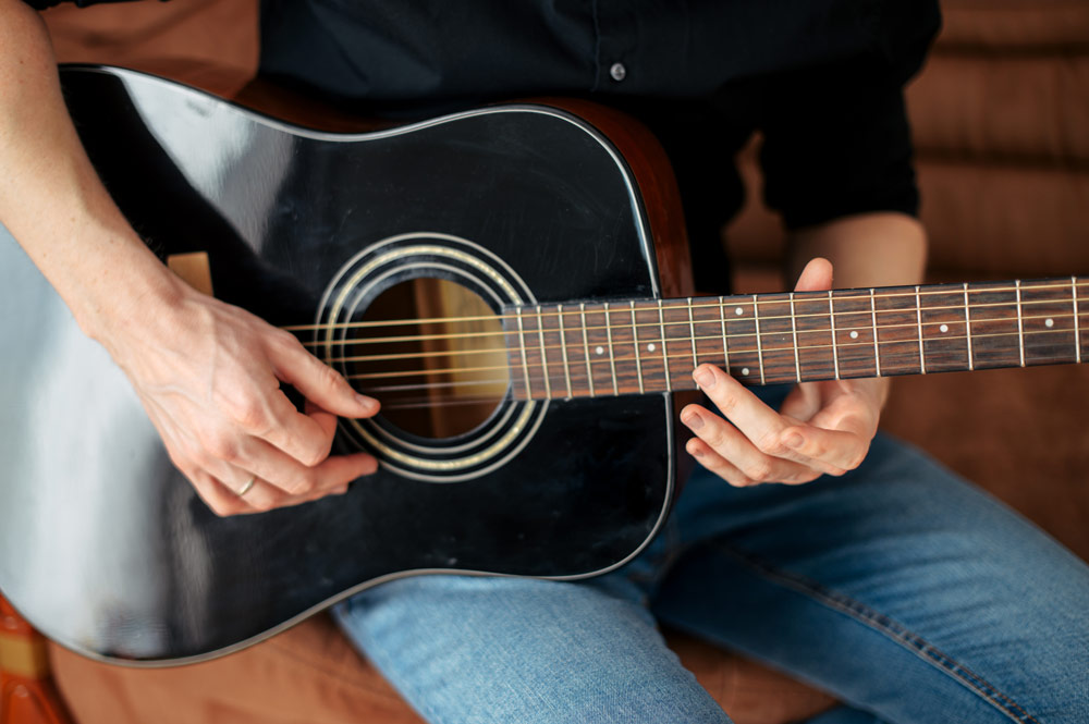 Home Guitar Lessons Hampton, Richmond, Kingston